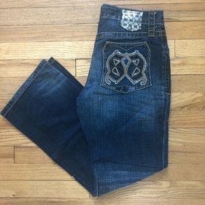 ⬇️45 Express Jeans Rocco Slim Straight Jeans 33x32